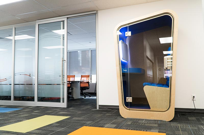 Noise Canceling Booths for Public Spaces