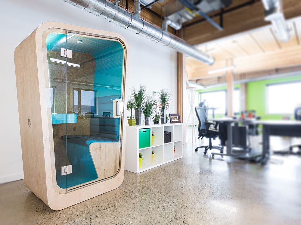 Loop Phone Booths | Privacy in Public Spaces with Soundproof Booths