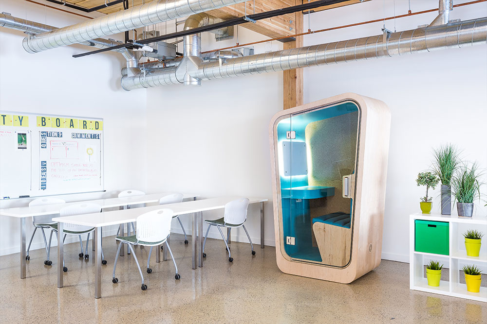 Office Phone Booth | Coworking Space Furniture