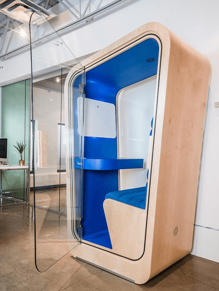 Loop Phone Booths | The Loop | Open Concept Office
