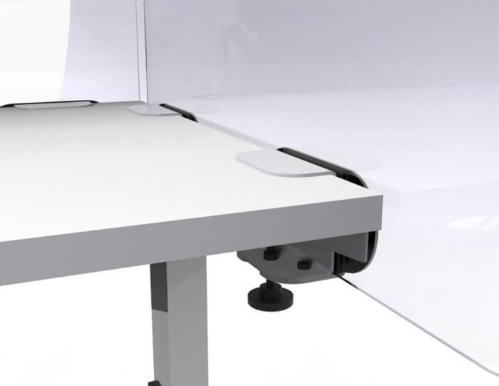 Side Mount Desk Screen Detail