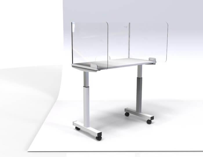 Top Mount Desk Screen